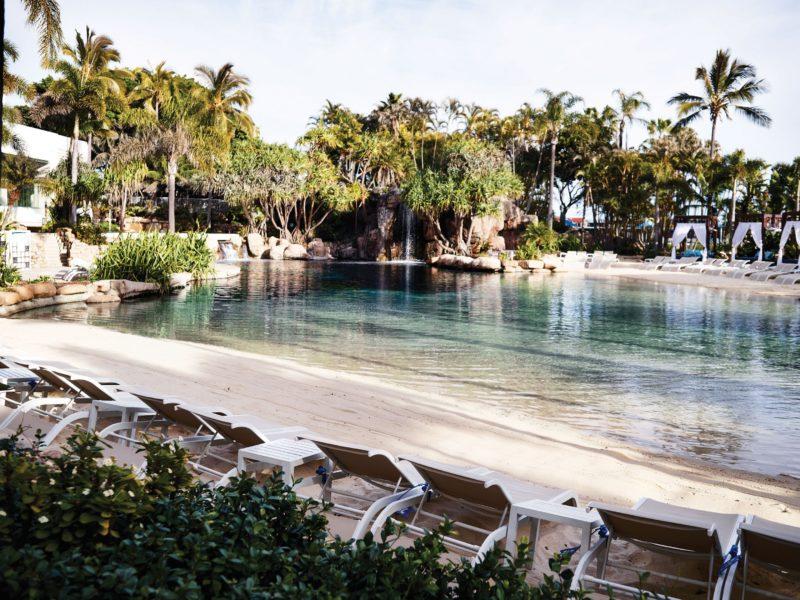 Surfers Paradise Resort Saltwater Lagoon Pool