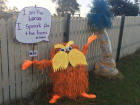 The Lorax by the Fitzgerald family.