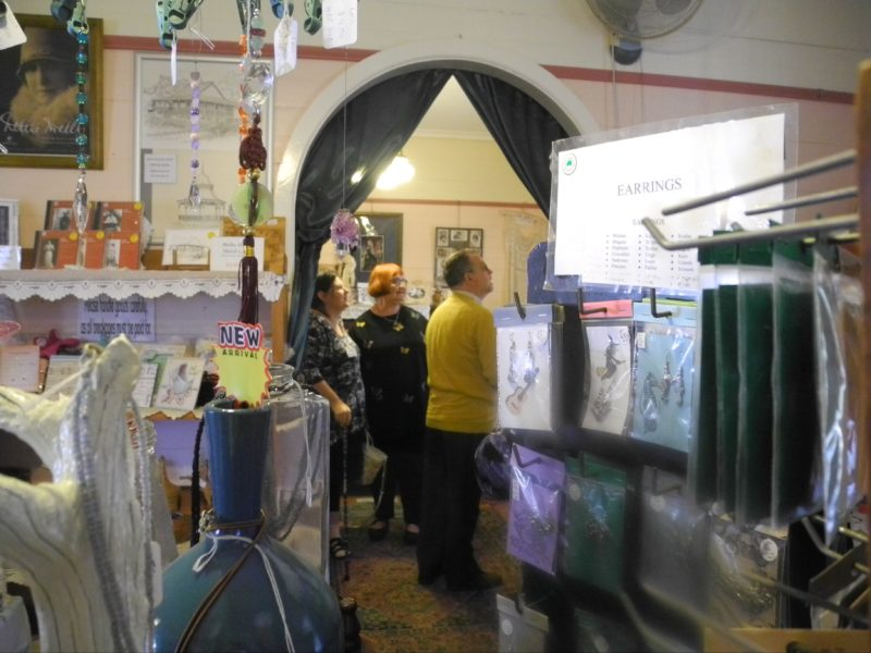 view into Melba room from craft room