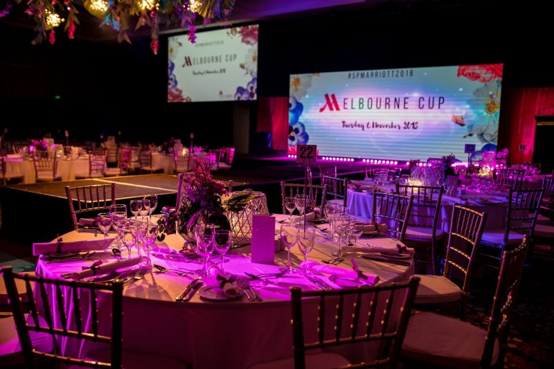Melbourne Cup in Marriott's Grand Ballroom