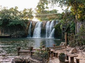 Mena Creek Falls from Paronella Park