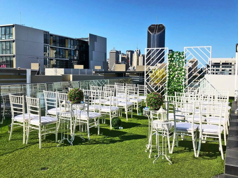 Menso's rooftop event space in Brisbane's Southbank South Brisbane precinct is perfect for functions