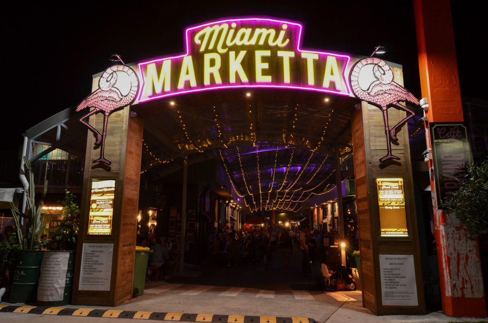 Entrance to Miami Marketta