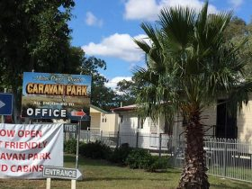 Welcome to Miles Cross Roads Caravan Park and Cabins