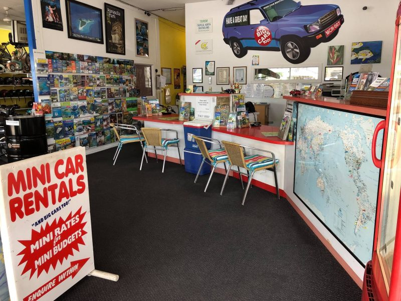 Store Interior - Mini Car Rentals Cairns