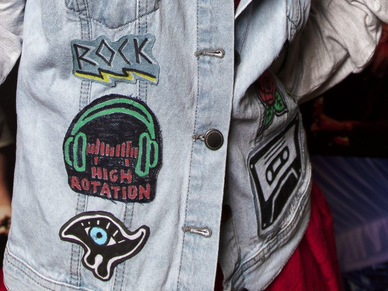 MoB Kids custom band patches workshop