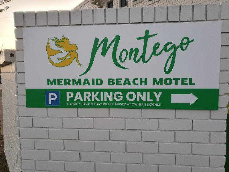 limited spaces car park