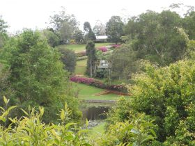 17 acres of gardens add to the peace, tranquility and privacy of the cabins.