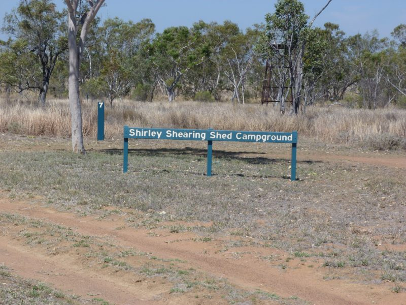 Shirley Shearing Shed campground