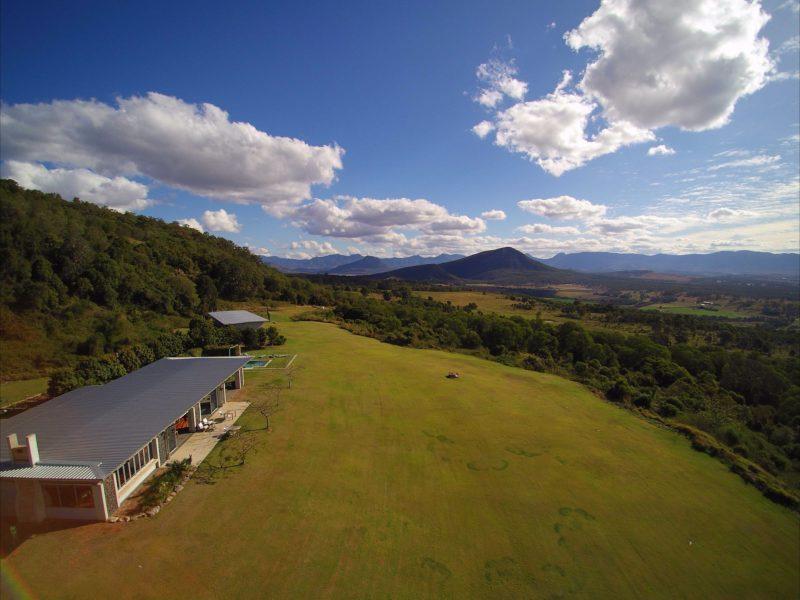 Aerial View of The Bunyip Scenic Rim Resort