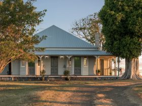 Mountview Homestead located 15 minutes south of Toowoomba on the eastern Darling Downs.