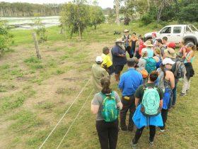AIUP Group visiting the Mungalla Wetlands