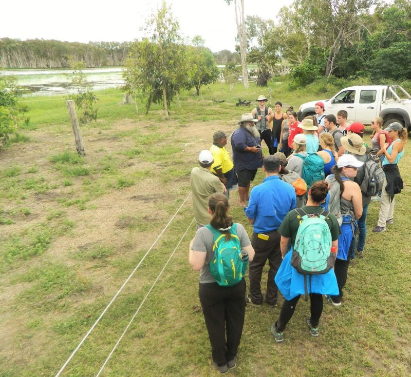 AIUP Group visiting the Mungalla Wetlands