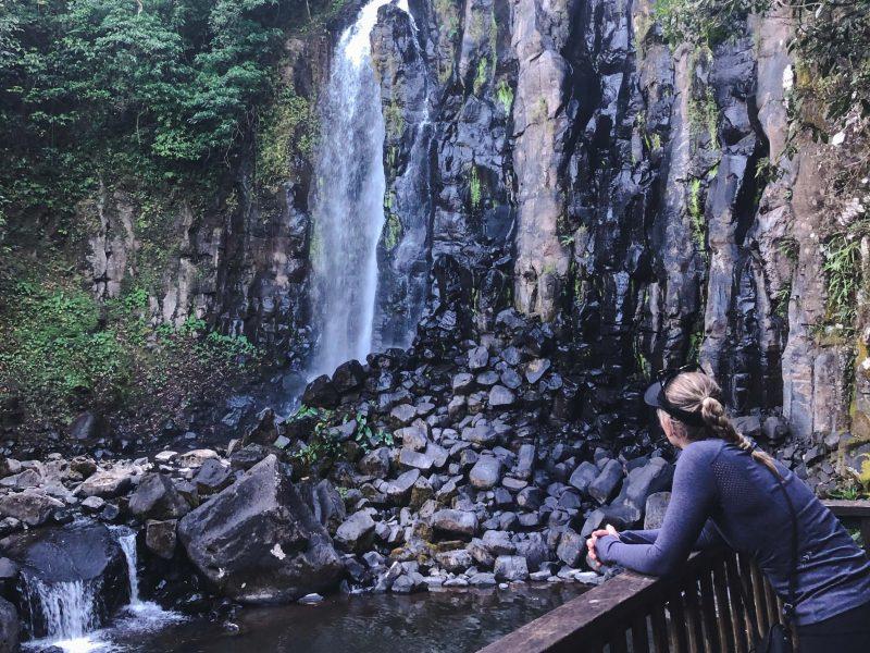Mungalli Falls viewing platform