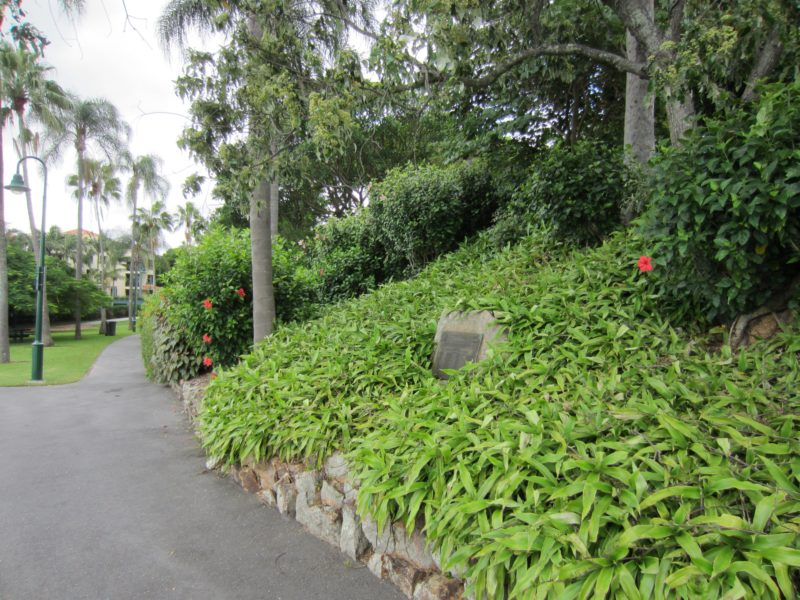Newstead Park memorial