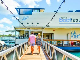 Noosa Restaurant Boathouse Entrance