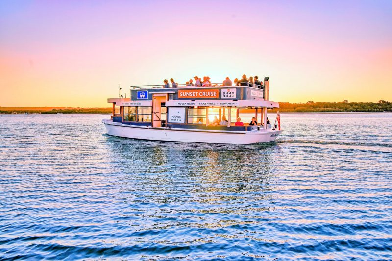 Sunset Cruises operate seven days per week with departure times pending time of year.