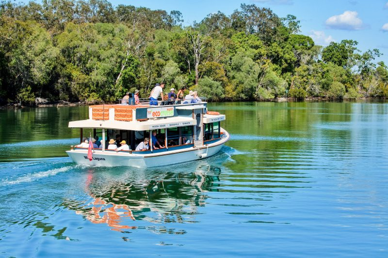 Our Eco Cruise operates within the Noosa River & Noosa Sound area Tues/Thurs & Sat