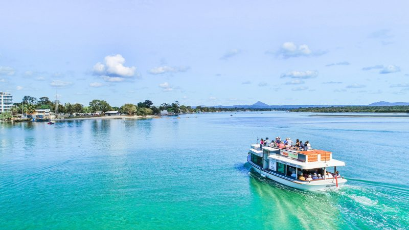 Our Ferry Cruise operates seven days per week with seven stops along the Noosa River