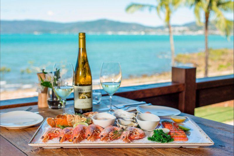 Whitsundays seafood restaurant Airlie Beach