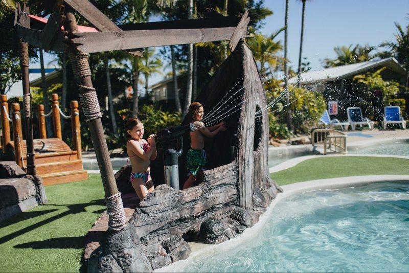 Pool at NRMA Treasure Island Holiday Park