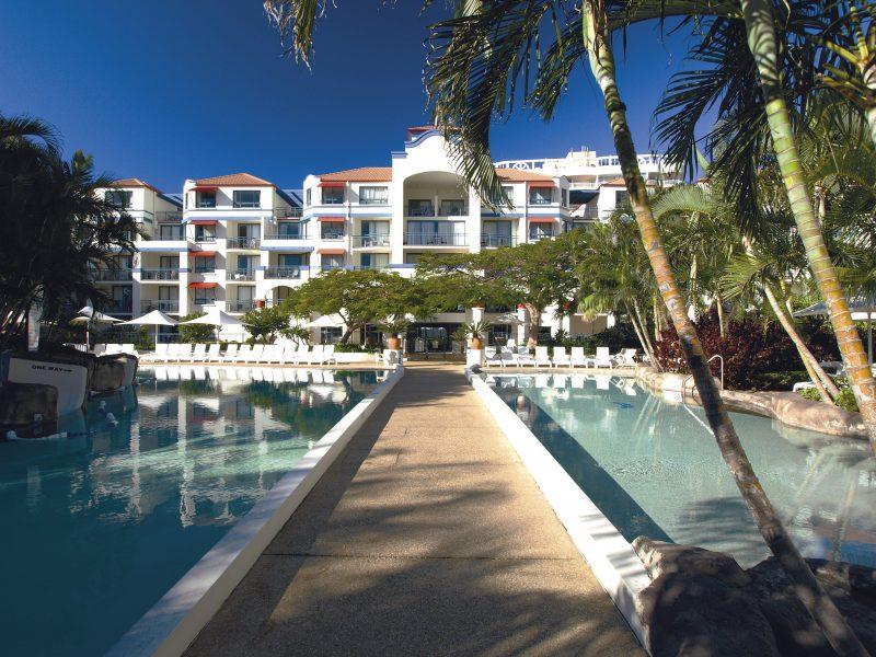 Oaks Calypso Plaza Pool Area