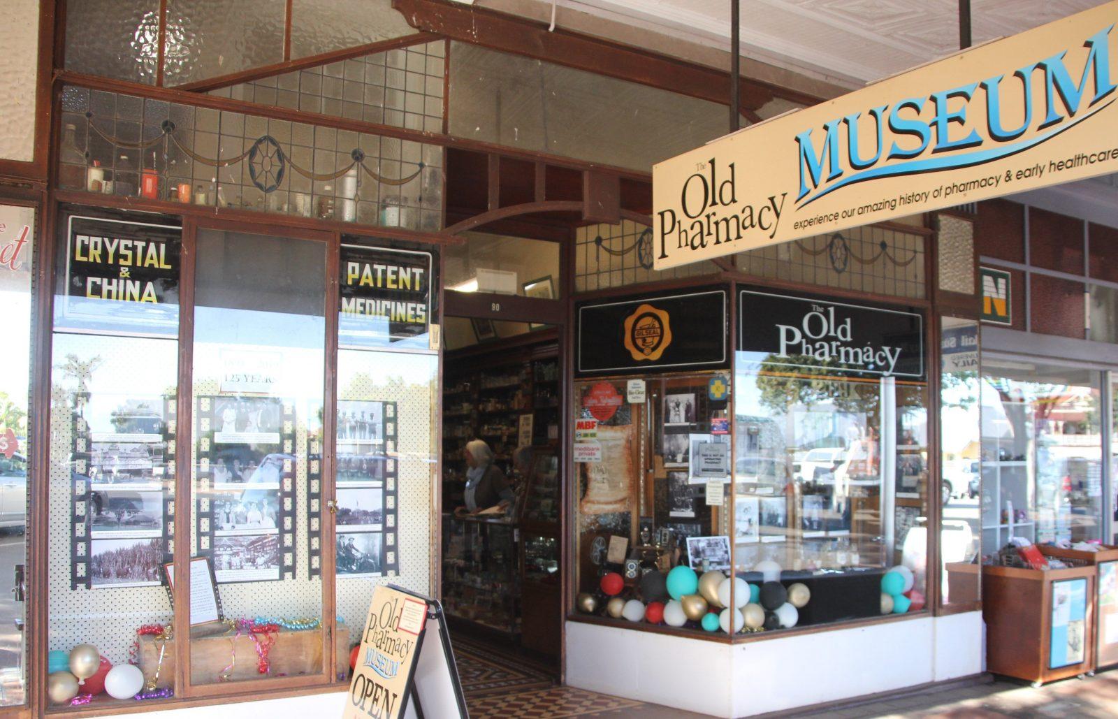 Old Pharmacy Museum Shopfront