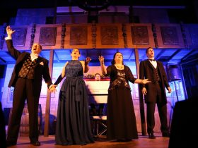 Underground Opera delights audiences at the Sunshine Castle, Bli Bli