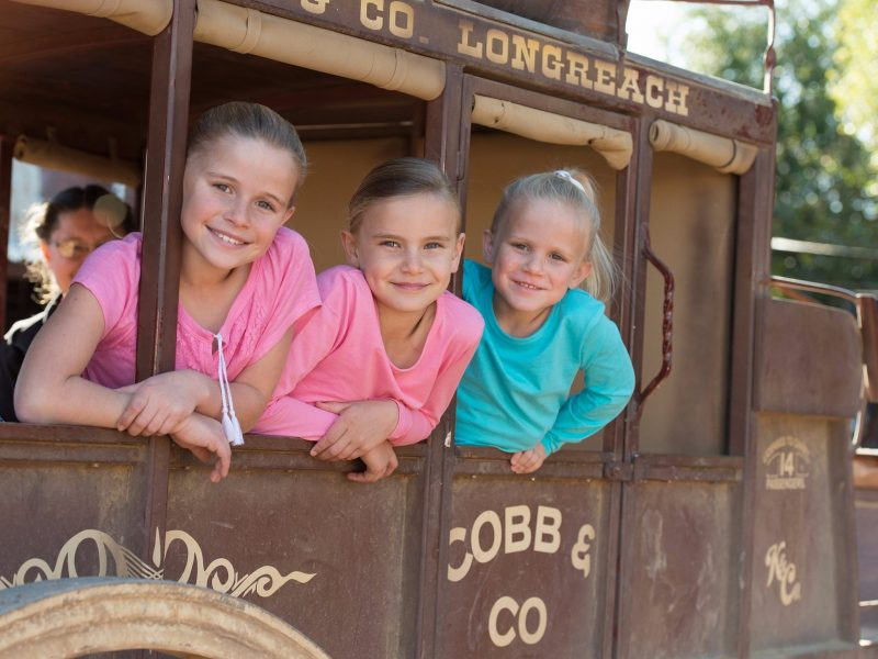 Outback Pioneers, Cobb and Co, Longreach
