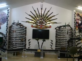 Owen Guns display