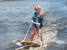 Childrens waterski lessons
