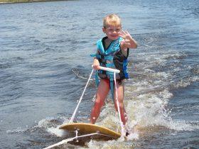 Childrens waterski lessons