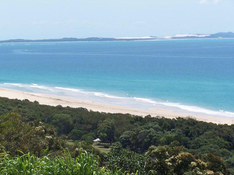 View from Beach & Ocean View villa