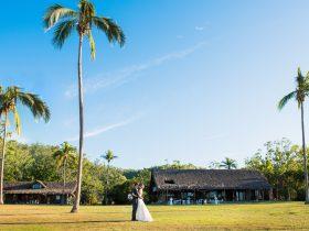 Destination wedding at Paradise Cove Resort