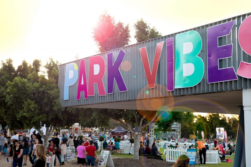 Park Vibes - Food, Music & Fun