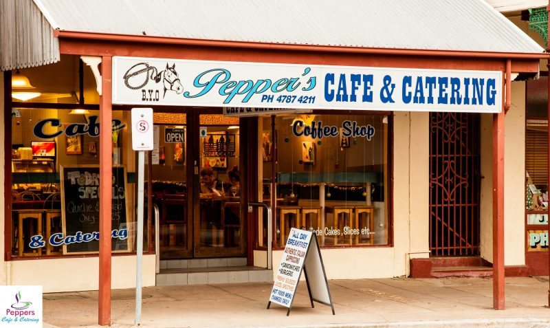 Peppers Cafe and Catering, Great Food, Great Coffee, Great Memories