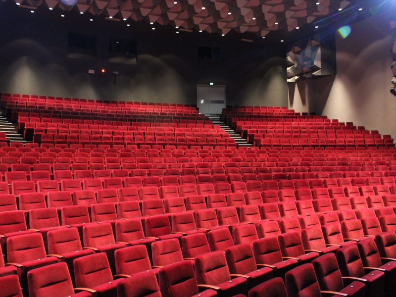 Pilbeam Theatre auditorium