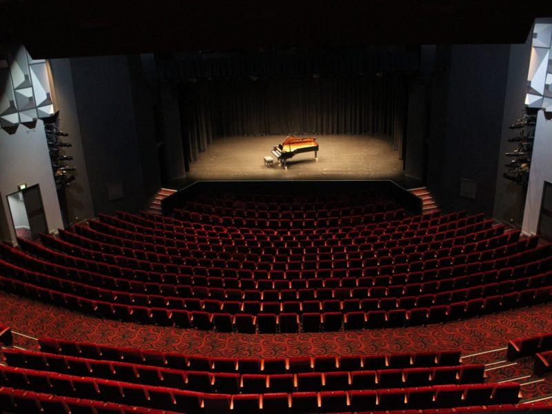 PIlbeam Theatre view from back of auditorium