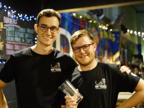 Two Pint of Science volunteers