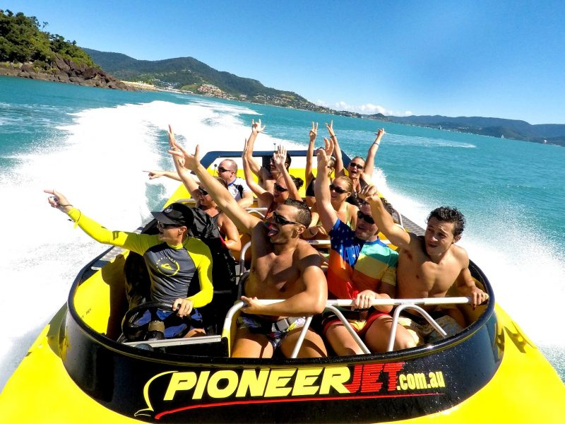 each Jet Boat - The Ultimate Bay Blast - Come and get wet with Pioneer Jet!