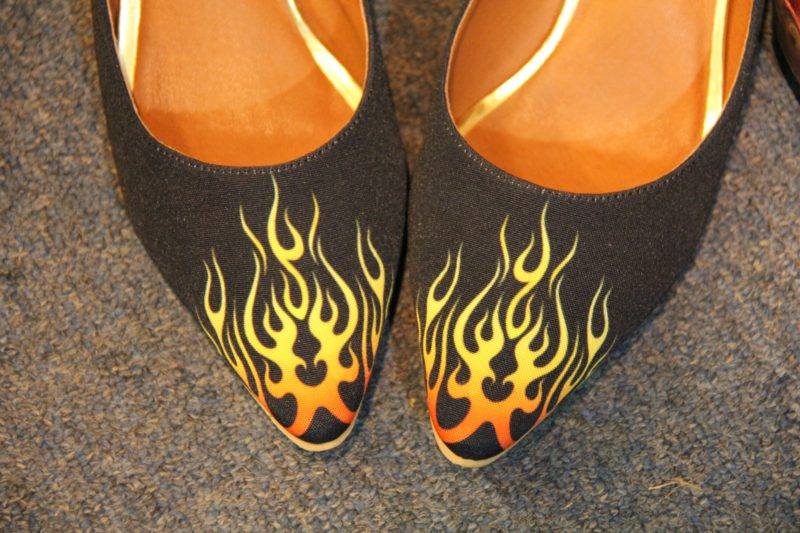 Fire Walker Heels
