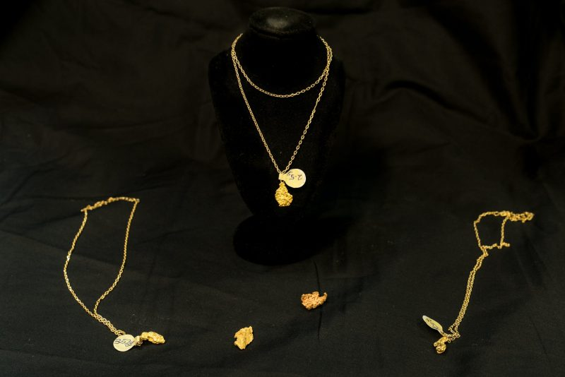 Poppet Head has local gold nuggets and pendants which make a perfect souvenir from the Gold City.