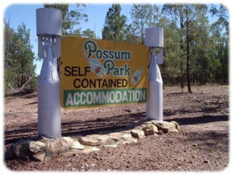 Entrance to Possum Park