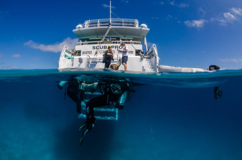 Great Barrier Reef liveaboard diving