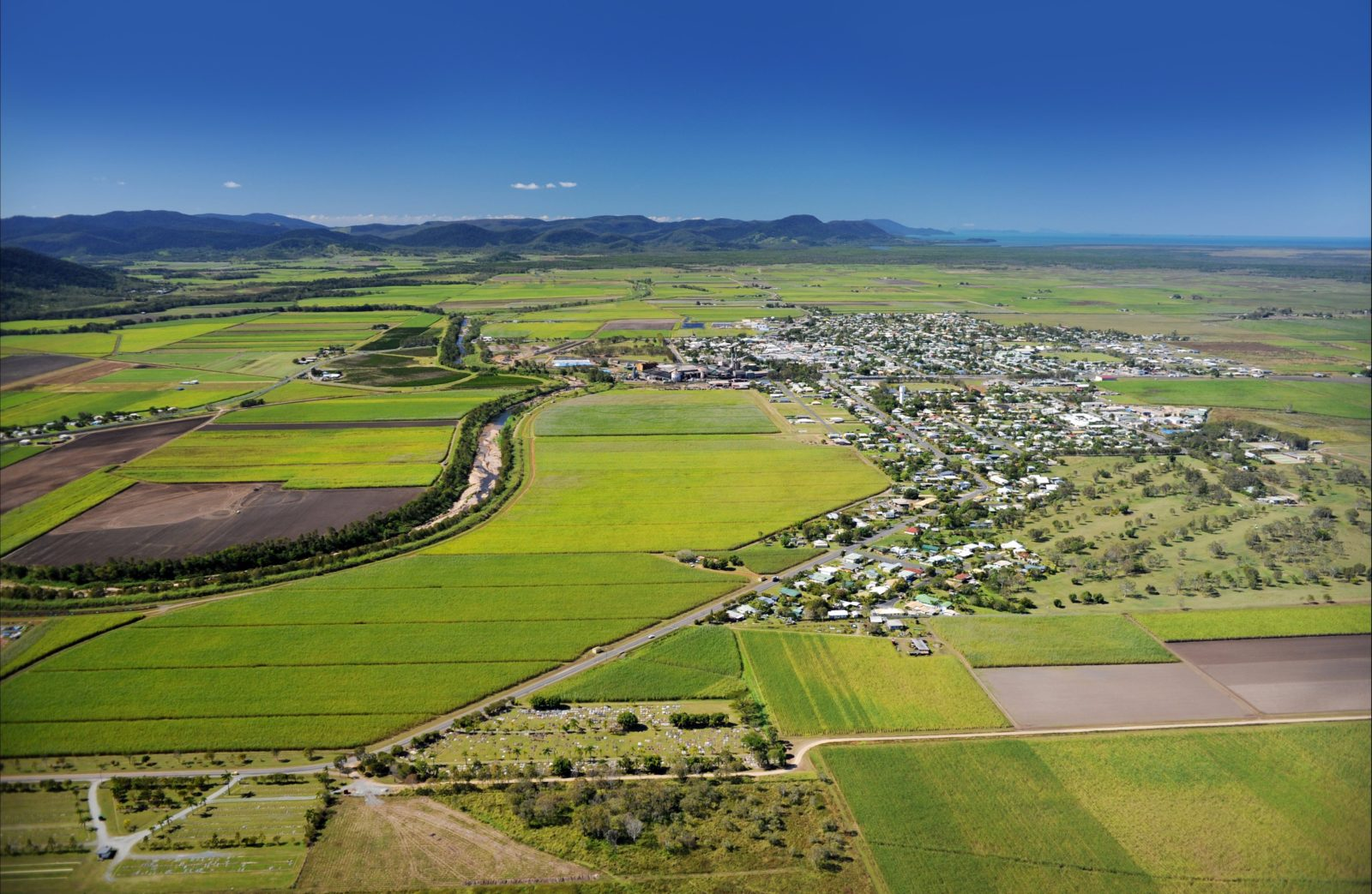 Aerial view of Proserpine