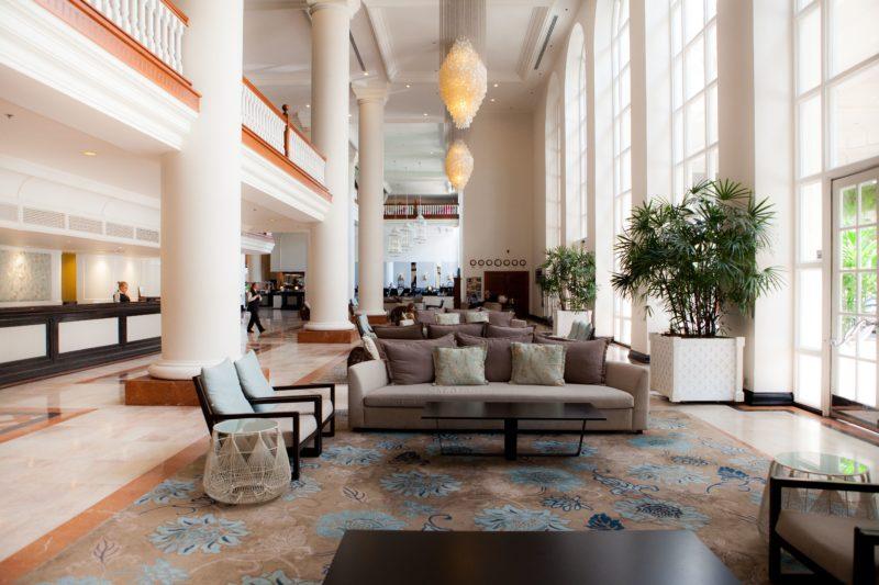 Elegant Grand Lobby