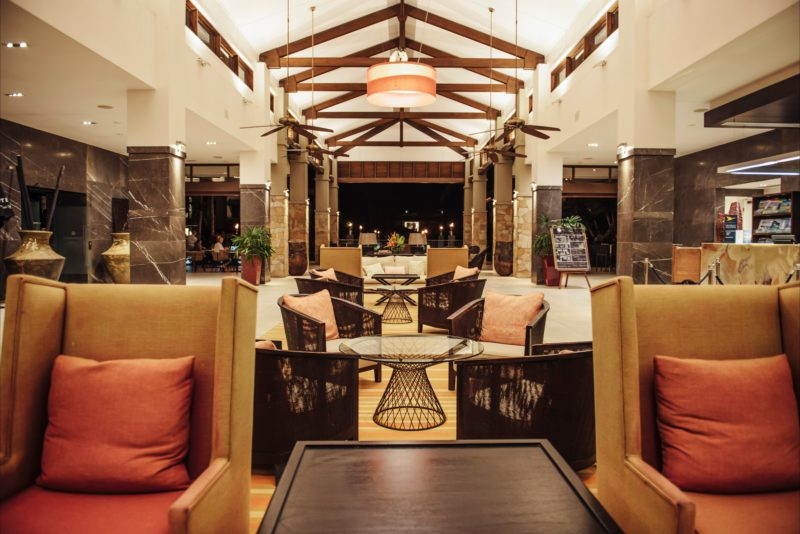 Resort lobby at Pullman Port Douglas Sea Temple Resort and Spa