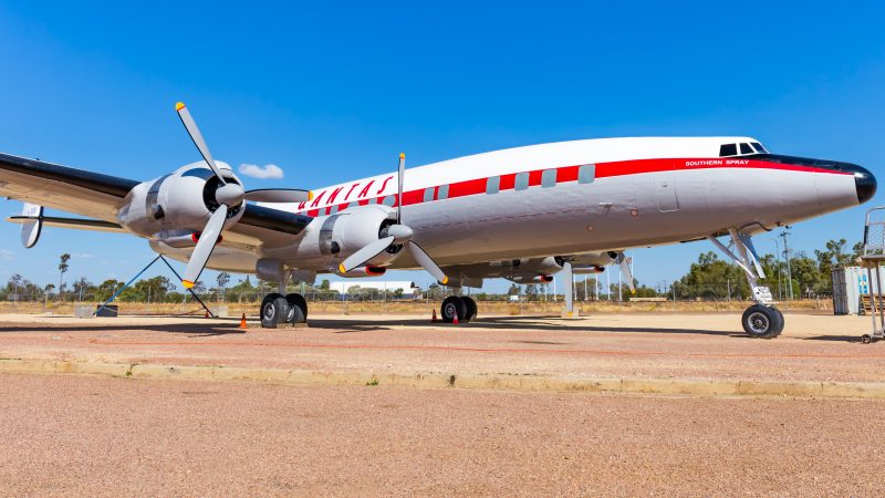 Qantas Founders Museum Super Constellation