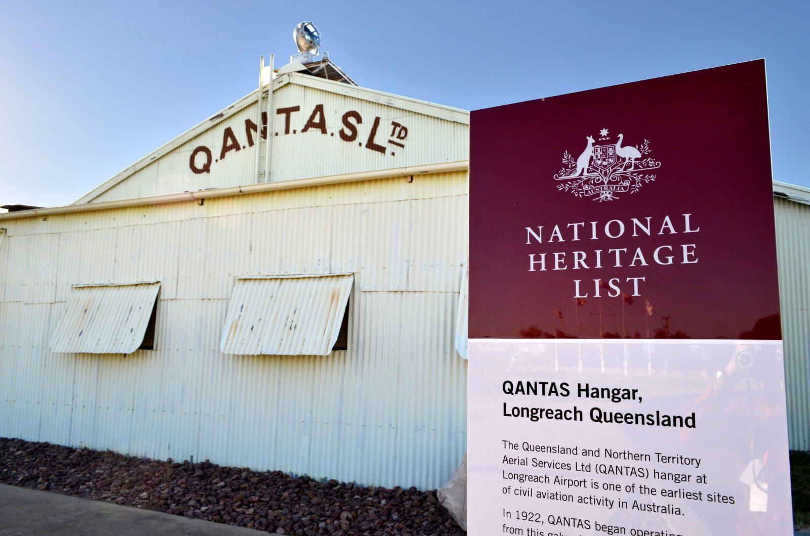 National Heritage Listed Qantas Hangar