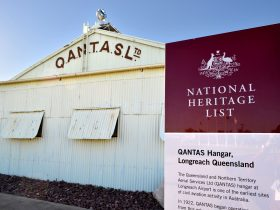 National Heritage Listed Qantas Hangar